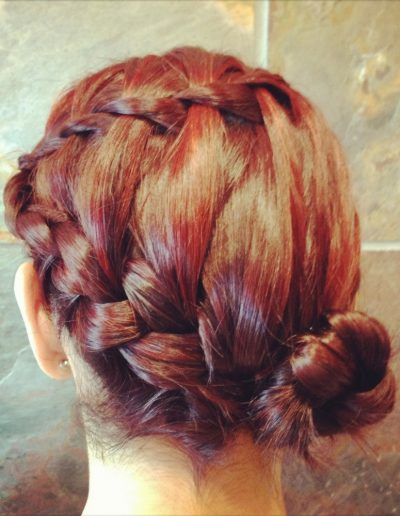 formal hair style
